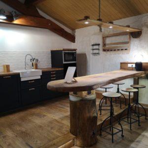 cuisine ouverte studio